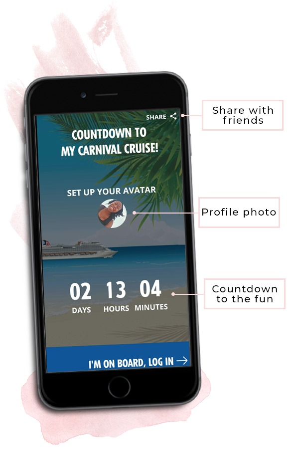 Carnival Hub App Before Your Cruise