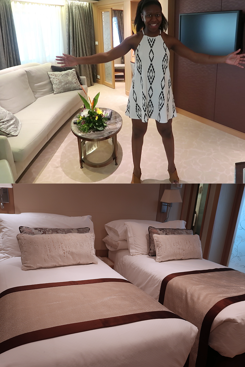 Seabourn Odyssey Room Tour
